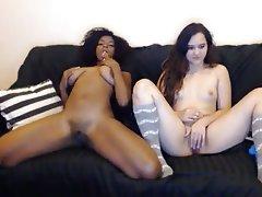 Amateur, Lesbian, Masturbation, Webcam