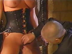BDSM, Big Boobs, Blonde, Latex
