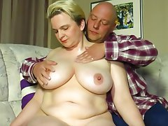 BBW, Big Boobs, Big Butts, Blonde, Cumshot