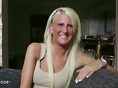 German, Handjob, POV, Skinny, Teen