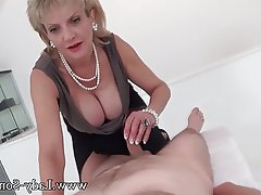 Big Boobs, British, Handjob, Massage, MILF