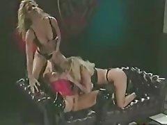 Lesbian, Double Penetration, Blonde
