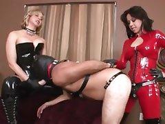 Babe, BDSM, Latex, Mistress, Strapon