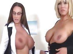 Lesbian, Big Boobs, British, Big Butts