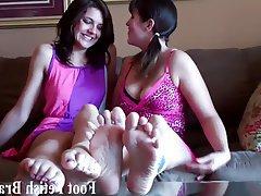 BDSM, Femdom, Foot Fetish, Lesbian, POV