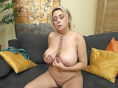 Masturbation, Mature, Big Tits