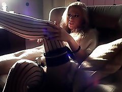 Blonde, Stockings, Softcore, High Heels