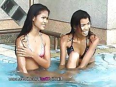 Asian, Casting, Lesbian, Teen, Thai