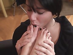 Foot Fetish, Lesbian, Foot Fetish, Erotic