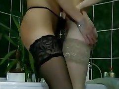 Cunnilingus, German, Lesbian, Small Tits