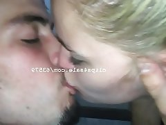 Amateur, Blonde, Kissing
