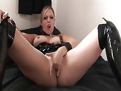 Big Boobs, British, Femdom, Masturbation