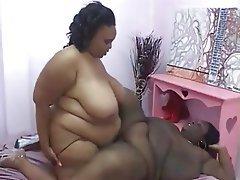 BBW, Big Boobs, Big Butts, Lesbian
