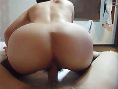 Korean, Latex, Stockings, Threesome