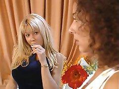 Anal, Blonde, Brunette, Group Sex, Double Penetration