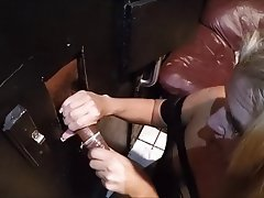 Amateur, Blowjob, Gloryhole, Handjob
