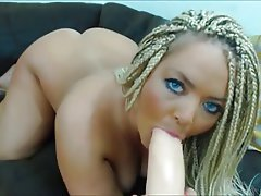 Big Butts, Blonde, Masturbation, Webcam