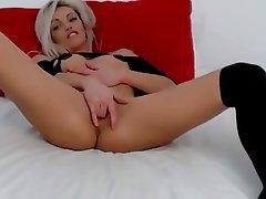 Amateur, Babe, Blonde, Masturbation