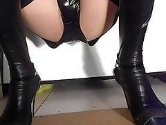 Latex, Pantyhose, Softcore, Spandex, Stockings