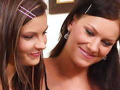 Babe, Close Up, Lesbian, Strapon