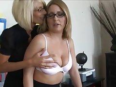 Nerd lesbian boobs
