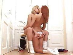 Babe, Blonde, Lesbian, Redhead