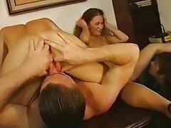 Anal, Blowjob, Double Penetration, Facial