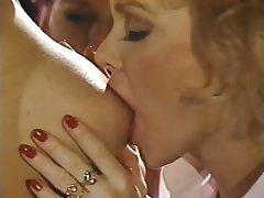 Group Sex, Lesbian, Stockings, Strapon, Vintage